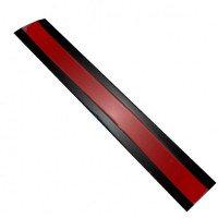 Полимерный сигнальный лист для обозначения высоковольтного кабеля шириной 250 мм.