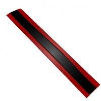 Полимерный сигнальный лист для обозначения трубопроводов шириной 250 мм.
