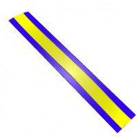 Полимерный сигнальный лист для обозначения кабелей связи.шириной 250 мм.